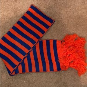 Orange and Blue Charming Charlie Scarf